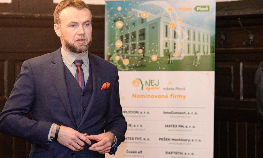 Účast v soutěži NEJ inovátor města Plzně