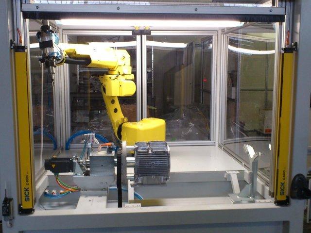 Roboterarbeitsplatz - Zelle 2