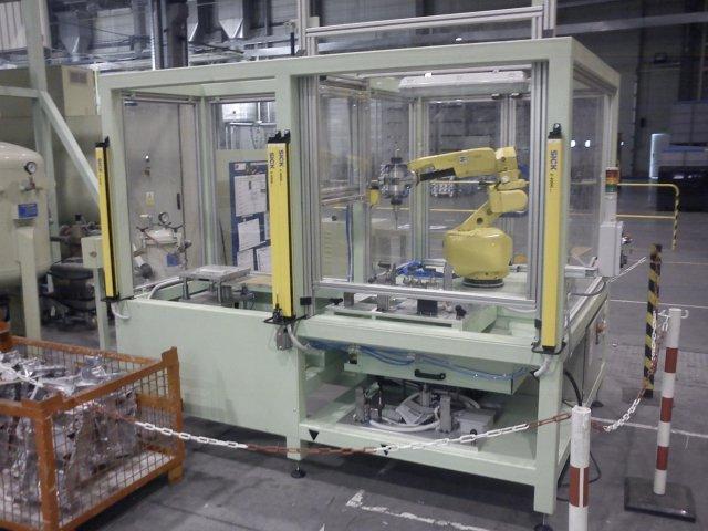 Roboterarbeitszelle
