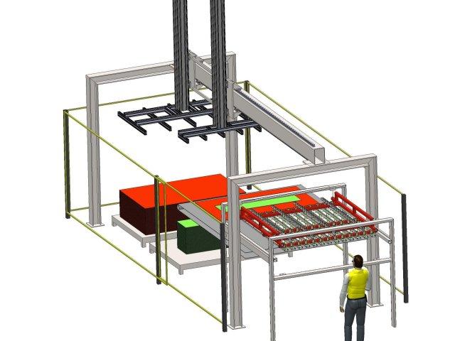 Doppelvakuummanipulator – Entwurf