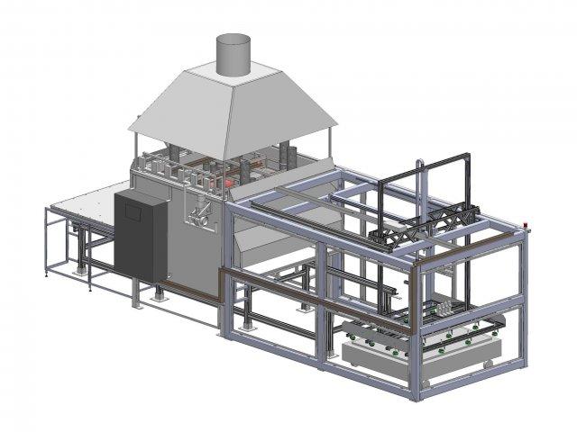 Gasheizung schwere Folien - Entwurf