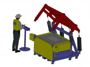 Special mould carriers